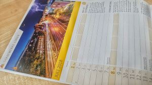 Familienkalender der Stadtwerke Lünen für das Jahr 2018