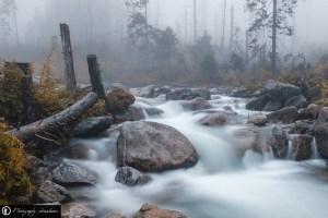 Slowakei - Wasserfall am Berg Hrebienok