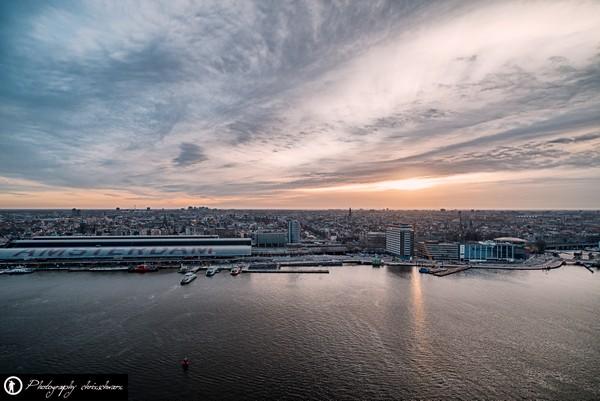 Die beste Aussicht über Amsterdam