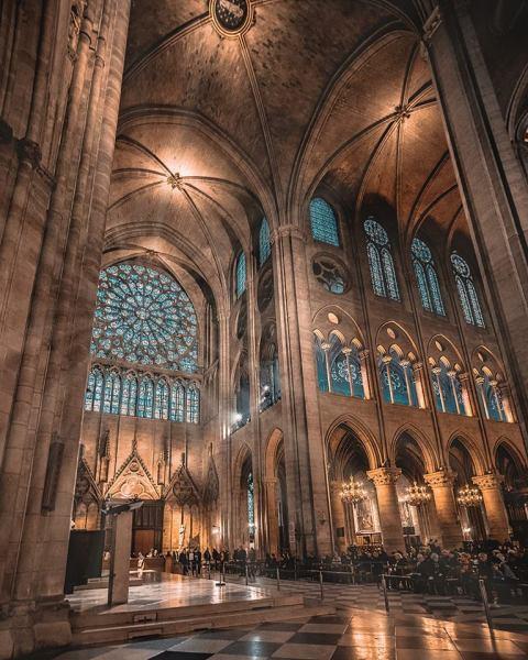 Fotografie - Notre Dame Paris, Frankreich
