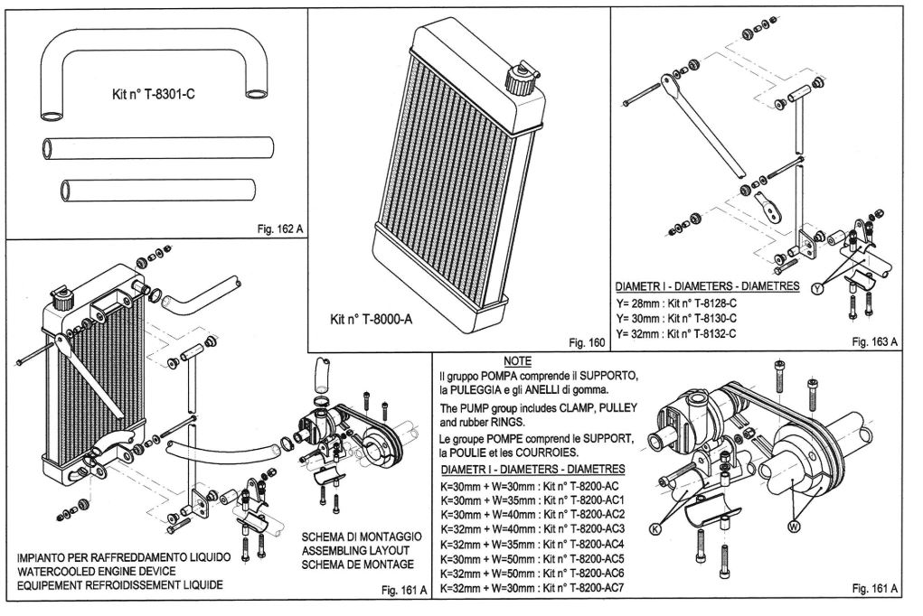 IAME Parilla Leopard Spare Part Catalog and Price List