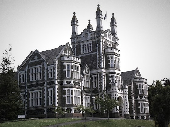 Otago Boys' High School - Gothic on the Hill