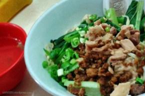 wonton noodle (mie baso pangsit)