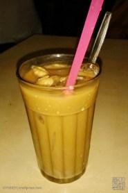 iced coffee with milk (kopi susu es)