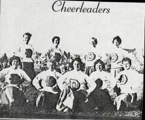 Cheerleaders, Christine and Rosemary