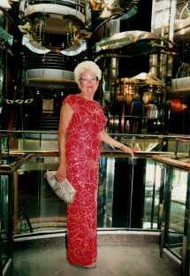 Jeanne Portrait - red dress