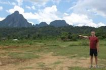 Countryside in Vang Vien