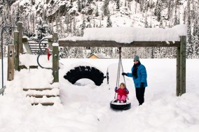 Manning Park at Christmas