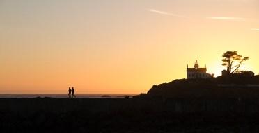 Sunset at Crescent City