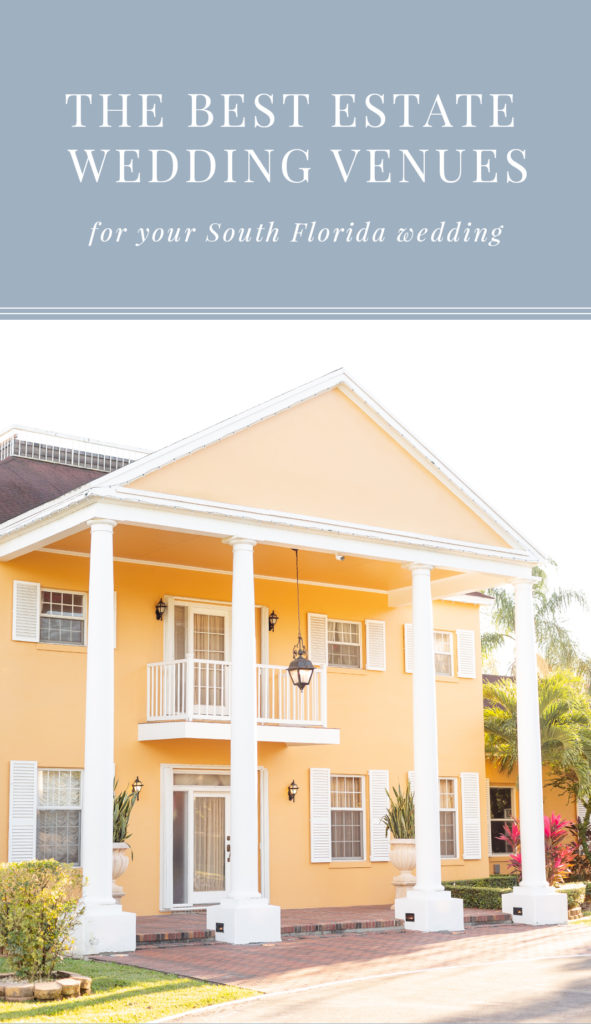 Spanish Oak Manor | Best Estate Wedding Venues in South Florida | Chris and Micaela