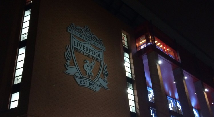 Picture of Anfield football stadium