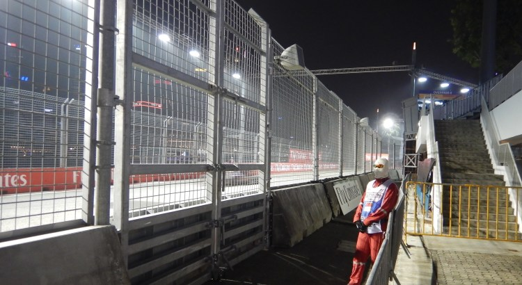 Picture of F1 steward