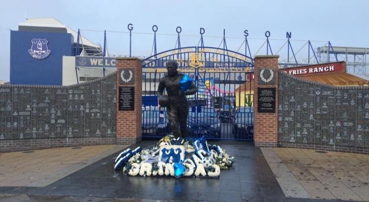 Picture of Everton's home ground
