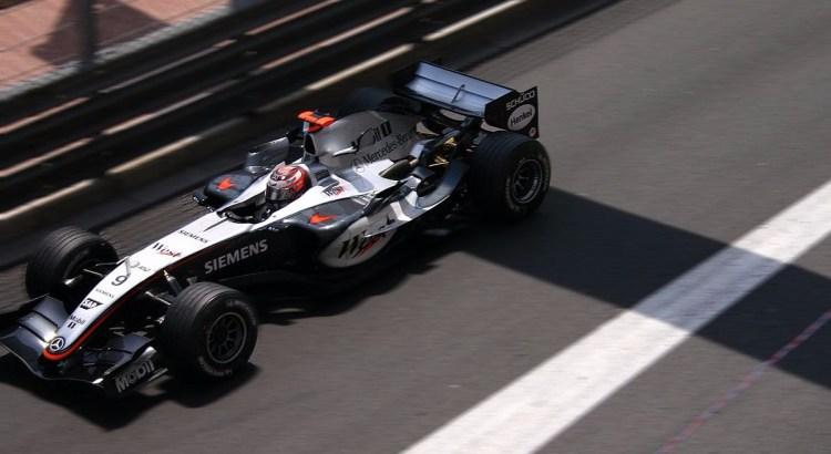 Picture of F1 McLaren car