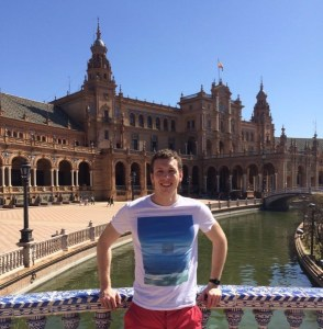 Picture of Chris Atkin in Plaza de Espana