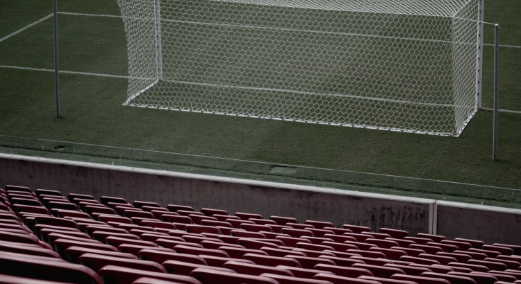 Picture of a football goal