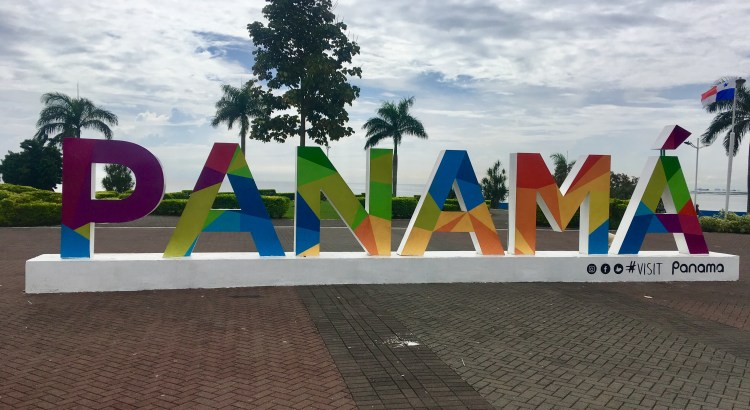 Picture of Panama tourist sign