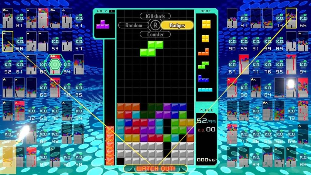 tetris 99 watch out