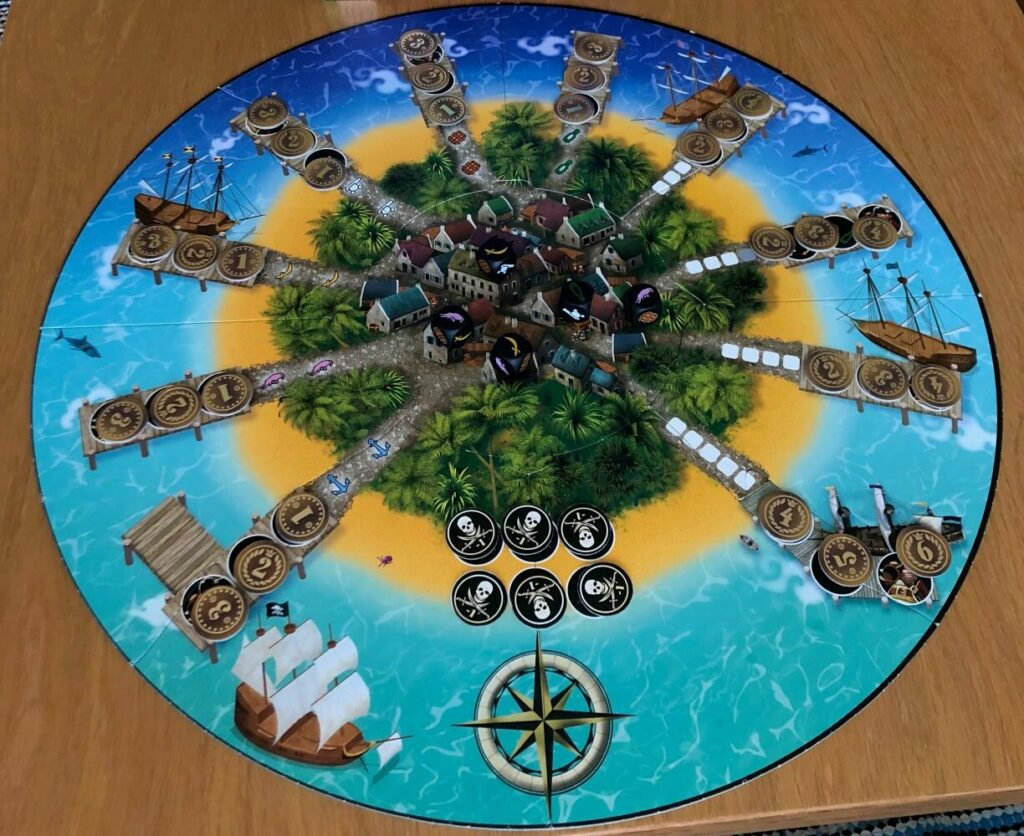 gold armada board