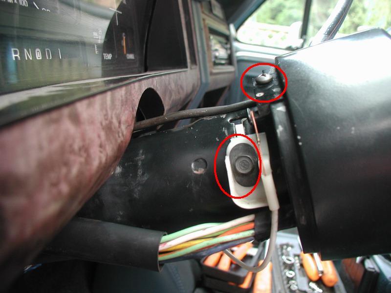 85 Ford F250 Wiring Diagram Steering Column