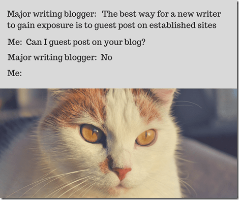 getting rejected for guest blogging