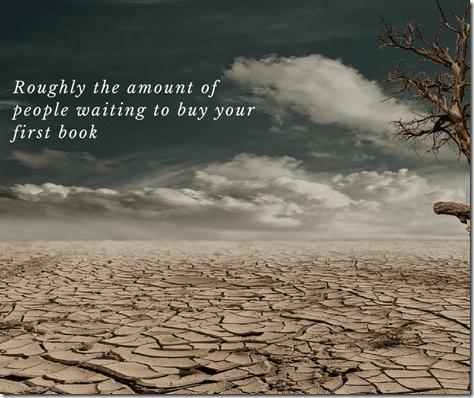 desert representing no buyers of your book