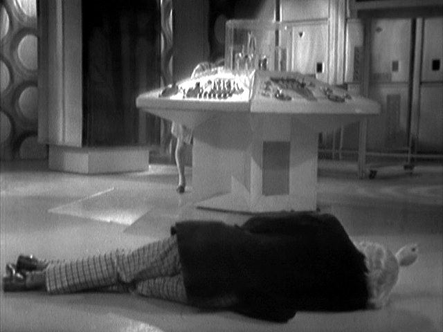 The TARDIS is broken again.