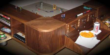 The Sultan gaming table, from http://www.geekchichq.com