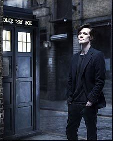 Matt Smith as the 11th Doctor, from http://news.bbc.co.uk/1/hi/entertainment/7808697.stm