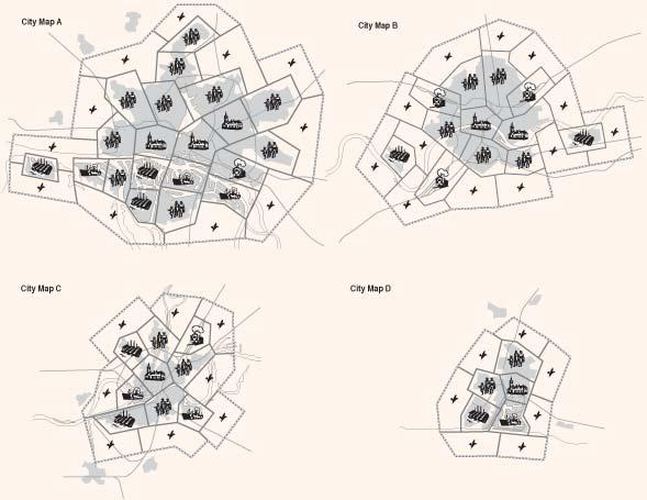 Playtest City Map for Bomber Command