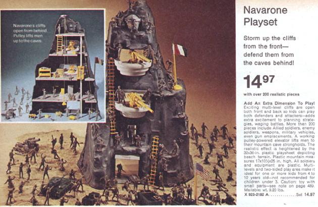Lost Toys: Marx Toys' Navarone Play Set – Movement Point