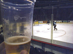 Beer & Hockey by Brad Lauster on flickr.com via a Creative Commons Attribution-Non Commercial-Share Alike License
