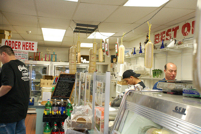 Photo of Chickie's Italian Deli by Benjamin Haas on flickr.com, via a Creative Commons Attribution-Non-Commercial-Share Alike License.