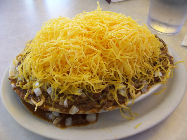 Cincinnati Five-Way Chili at Skyline Chili