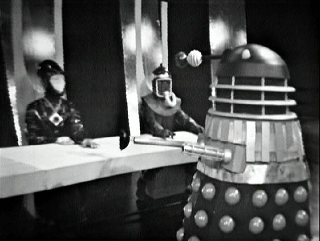 Gearon, Malpha, and the Dalek Supreme. Or is that Celation?