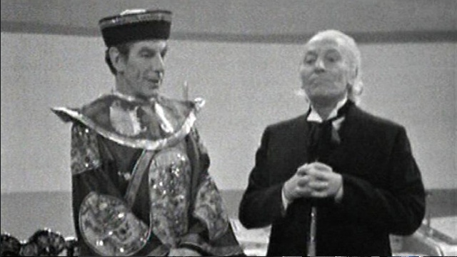 Screencap of The Celestial Toymaker via the BBC