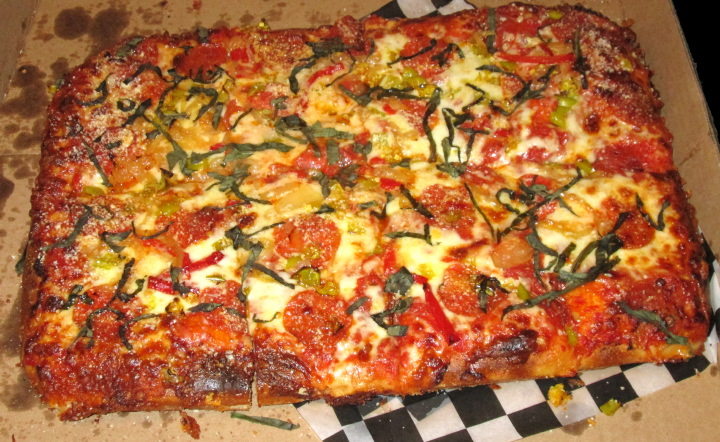 Grandmother style pizza from Pizza Parts and Service