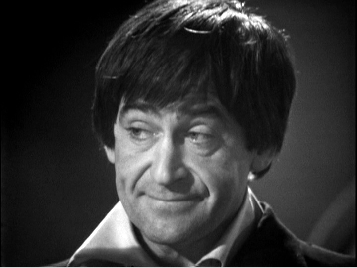 A particularly pleased Second Doctor
