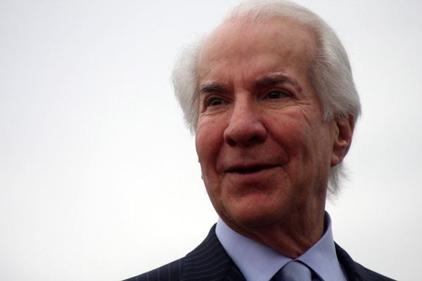 Ed Snider by Michael Allen Goldberg via a Creative Commons Attribution-Share Alike License on Flickr
