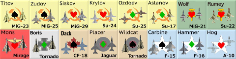 Playtest Art for Red Storm via GMT Games