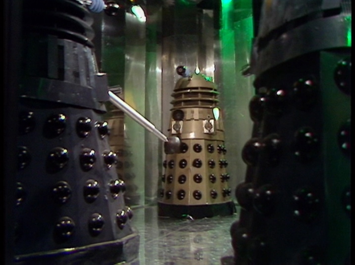 All the colors of the Dalek rainbow