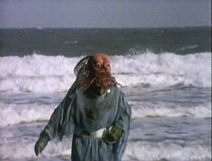 Behold the Sea Devil in the Surf