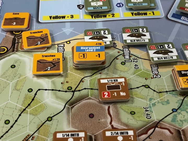 Saipan: The Bloody Rock at Winter Offensive 2018