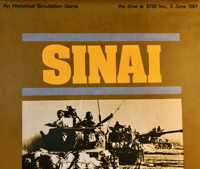 Sinai (SPI) Flat Pack Cover Sheet
