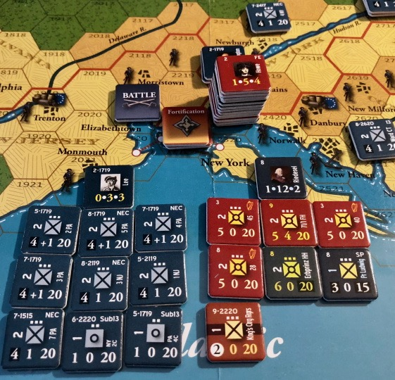 End of Empire, Turn 9, Battle of Elizabethtown