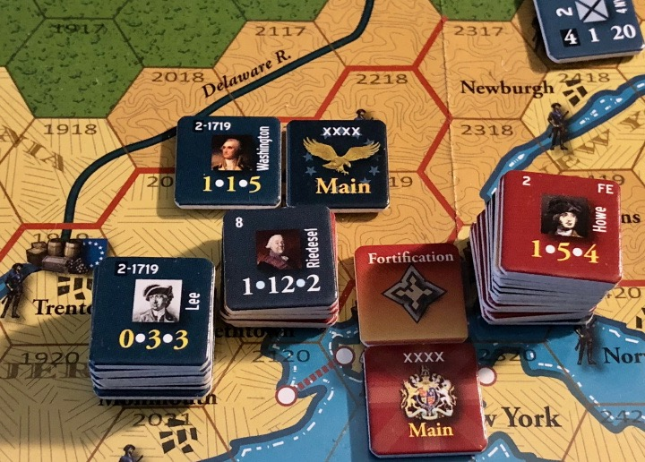 End of Empire, Turn 10, the Battle of Morristown