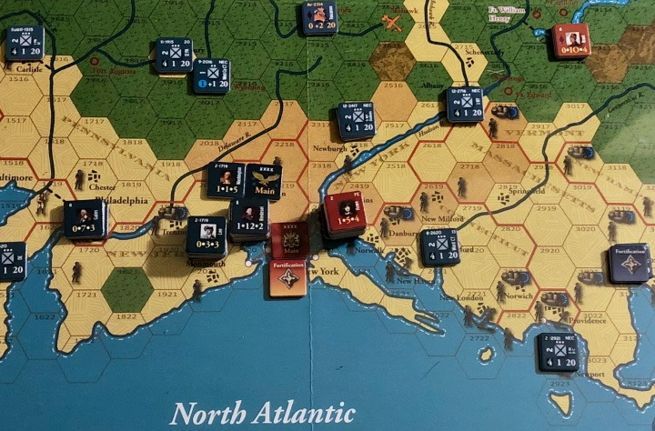 End of Empire, Turn 12, Overview of northern colonies