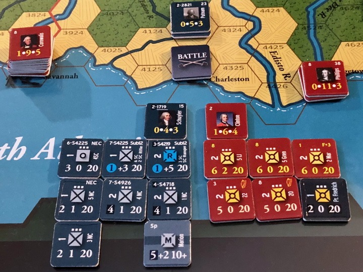 End of Empire, Turn 8, the Battle of Charleston