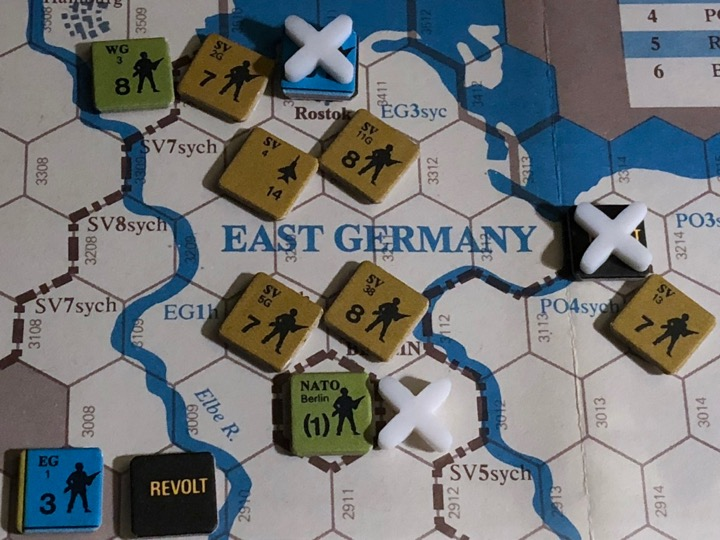 Revolt in the East, Turn 3, Attack on the Berlin Garrison