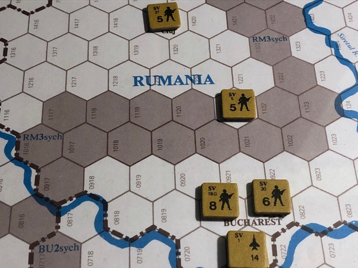 Revolt in the East, Turn 6, Romania occupied